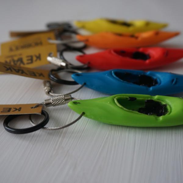 Schlüsselanhänger Kajak / Wildwasserkajak